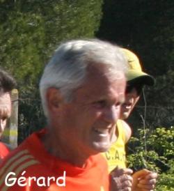 Gérard, autant de courage que de cheveux blancs